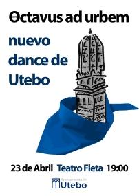 boceto cartel dances de utebo